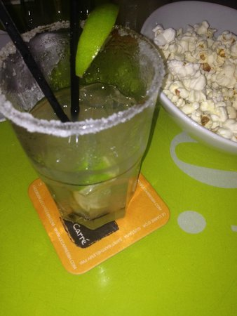 Le Carre: Margarita pop-corn