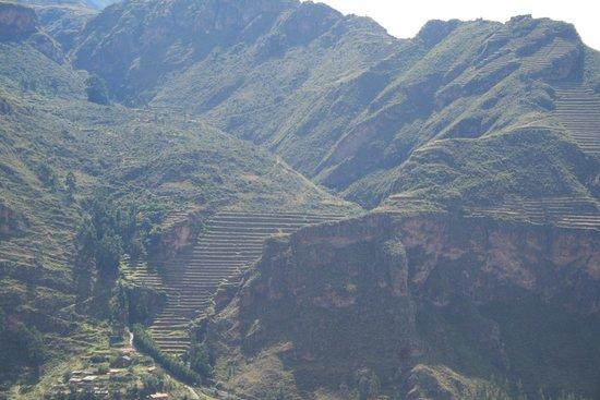 I terrazzamenti della collina - Foto di Pisac, Pisac - TripAdvisor