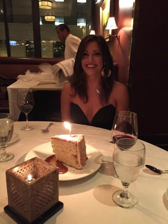 Grill 23 & Bar: Our Birthday girl!