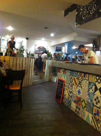 JANE California Street Kitchen: Le bar