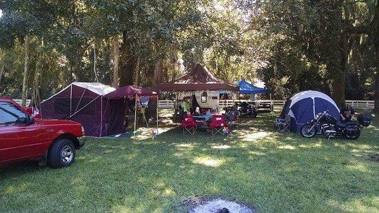 Bulow RV Resort: Our Campsite