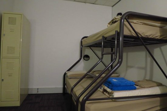 The Greenhouse Backpacker: Double Deck bed in couple room