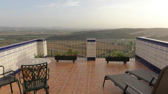 Hotel El Convento: terrasse