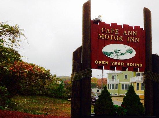 Cape Ann Motor Inn: Entrance