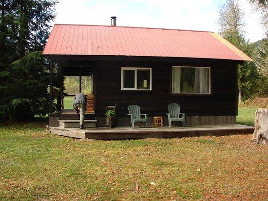 Grizzly Bear Ranch: Logjam cabin.