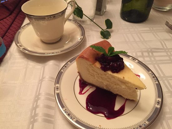 Lily's cheesecake! Amazing, worth the trip alone.