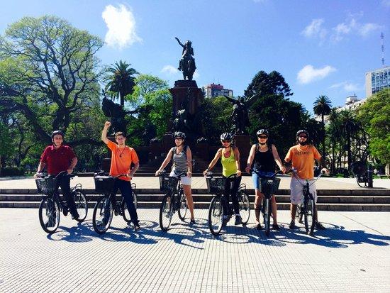 Bike Tours: San Martín Square - Meeting Point