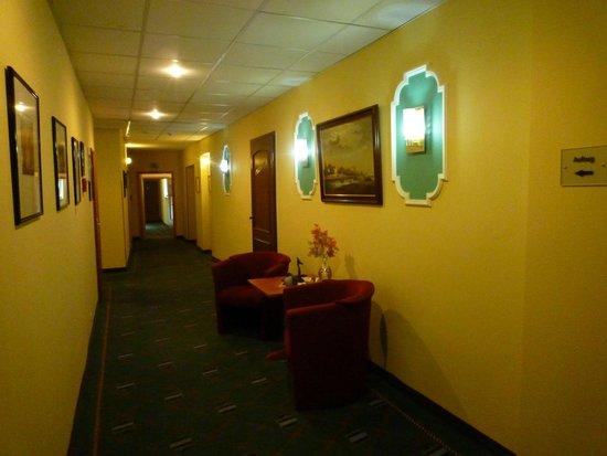 Hotel Am Alten Strom: Hotelgang