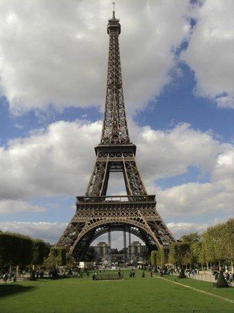 Hotel l'Amiral: Torre Eiffel