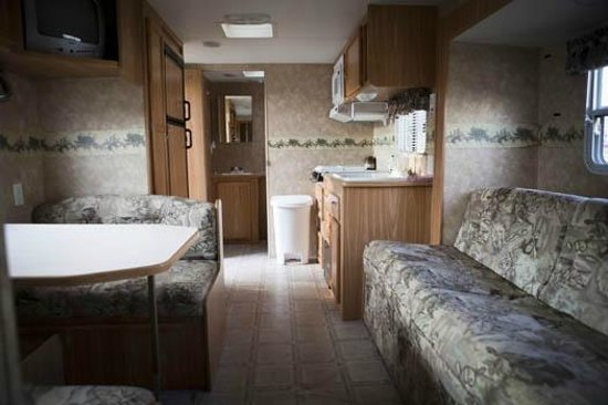 Grandview Campground & RV Park: We have a great rental trailer available for our guests.