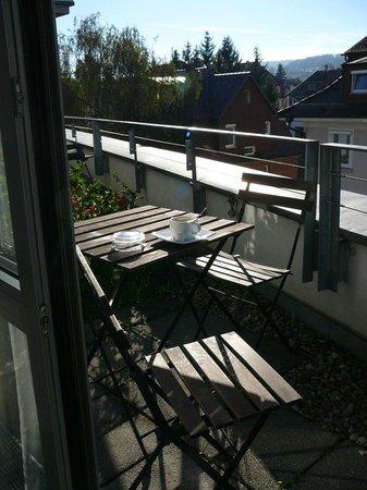 Hotel Metropol Tubingen: balconcino