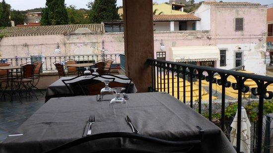 La Tartana: terrasse