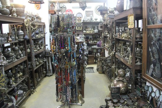 Stone Town, Tanzania: the shop