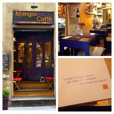 Mangiafoco Cafe: Ambiente super agradável