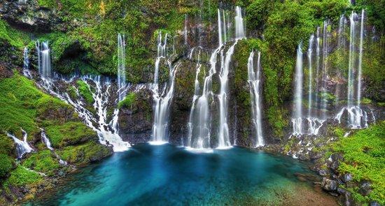 Les Avirons, Ile de La Réunion: Cascade de Grand Galet