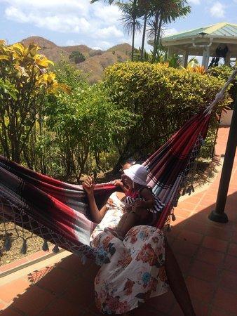 Top O' Tobago Villa & Cabanas: Koolin' n maxin'