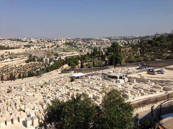 Rent a Guide Israel Tours: View from Mt of Olives