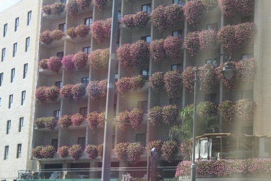 Prima Kings Hotel : FACADE FLEURIE.......original non ???