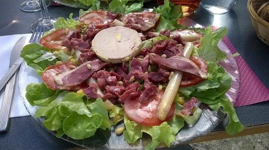 Sucre Paille: assiette Landaise