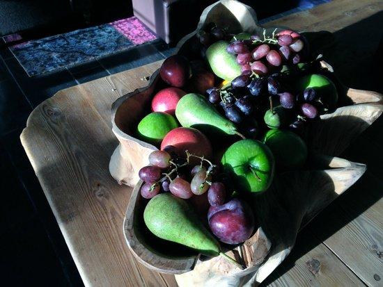 Lysebu: Fruit basket in the Public Area