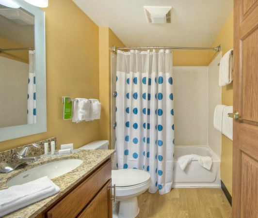 TownePlace Suites Charlotte University Research Park : Business Studio bath