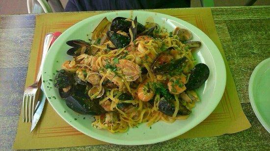 Spaghetti allo scoglio picture of bagno andrea 83 - Bagno andrea pinarella di cervia ...