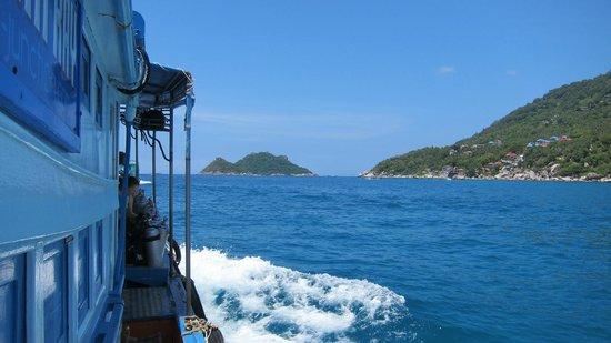 Scuba Junction Diving Co. Ltd: On route