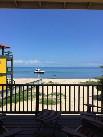 Mirasol Beach Apartment: View from the deck