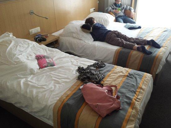 Hotel Du Commerce : zimmer