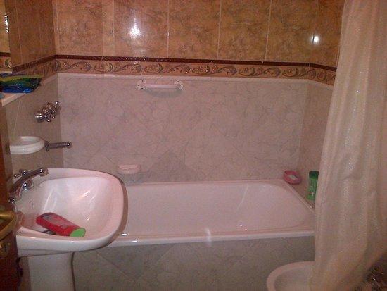 Apart Costa Rivera: baño