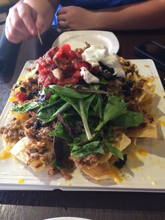 Red Brick Tavern: Pulled Pork Nachos