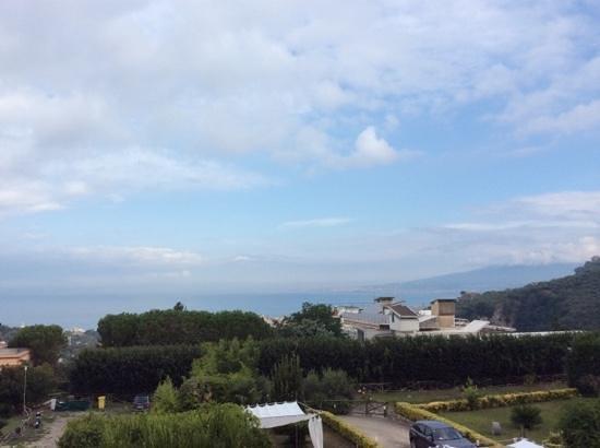 Villa della Porta: view from our deck