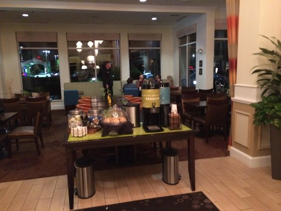 lobby cookies Picture of Hilton Garden Inn ColumbusGrove City