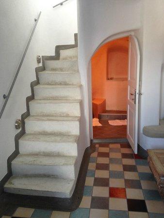 Bathroom Under Stairs bathroom under the stairs - picture of ikastikies, firostefani