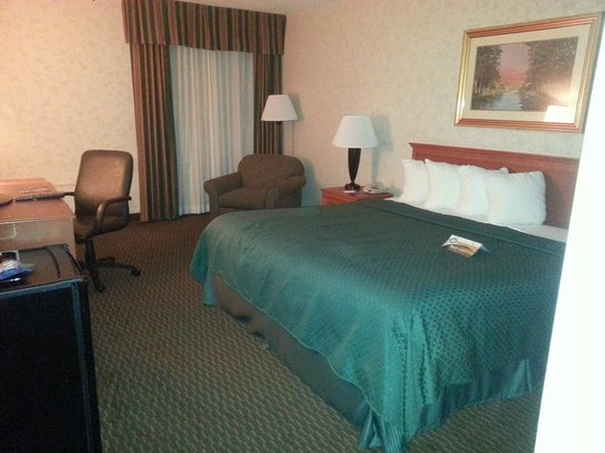 Quality Inn Gallipolis: Nice sized room with Queen size bed.