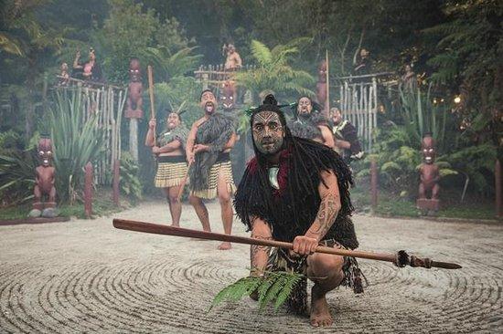 Aldea Maorí de Tamaki