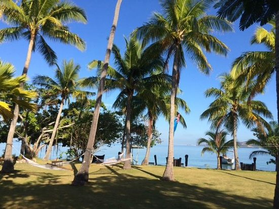 Lomani Island Resort: Hotel Grounds
