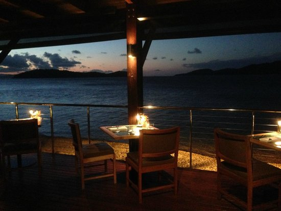 Qualia Resort: Pebble Beach Restaurant