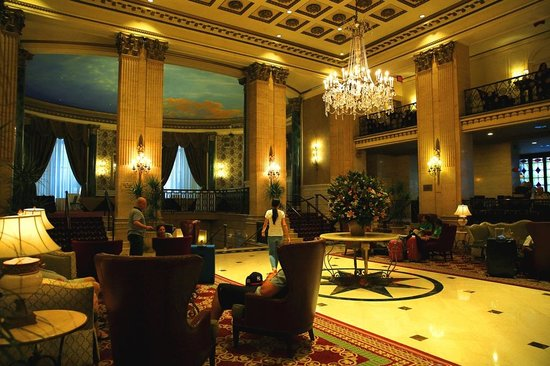 The Roosevelt Hotel: hall