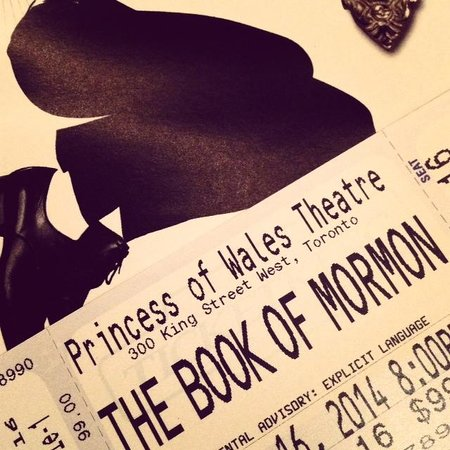 Princess of Wales Theatre: Ticket