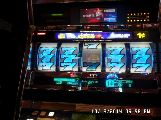 Harrah's Atlantic City Casino: Penny machine