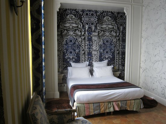 Hotel du Petit Moulin: One of the rooms