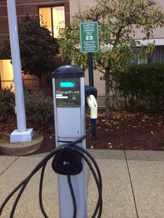 Courtyard Concord: Electric car charger