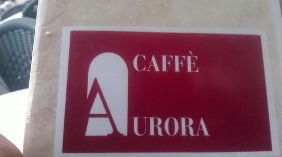 Caffe Aurora: il logo