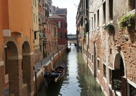 Hotel Locanda Vivaldi: down a canal....so awesome