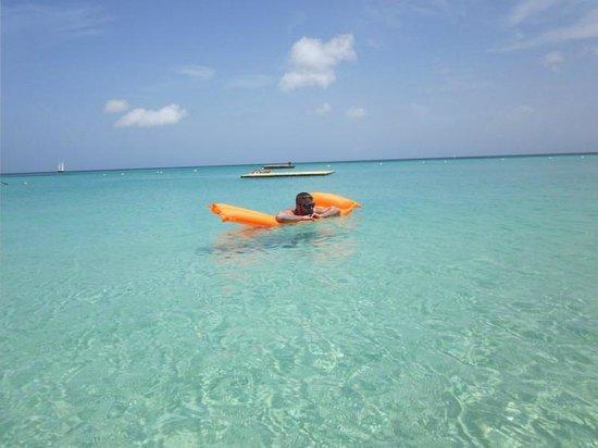 Bananarama Beach and Dive Resort: The amazing water!
