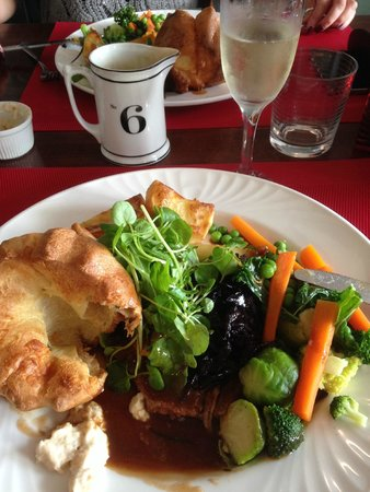 The Bistro: Traditional Roast Beef Sunday lunch