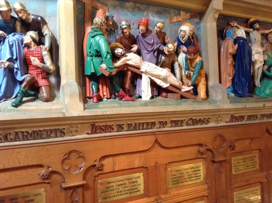 Shrine of St Augustine : stations of the cross