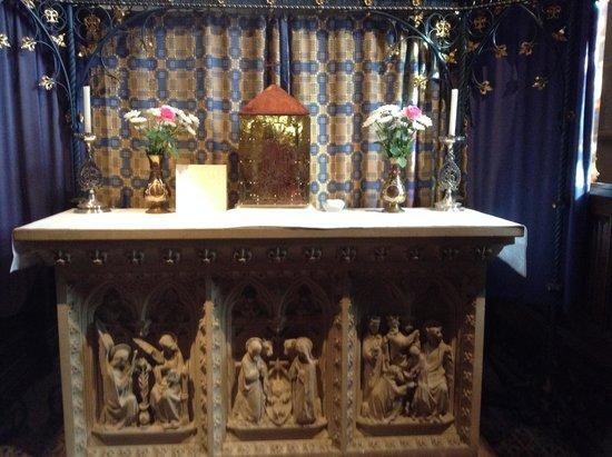 Shrine of St Augustine : the altar