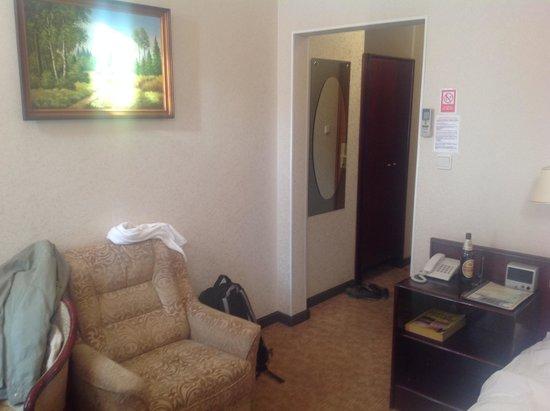 Polesye Hotel: Спальня